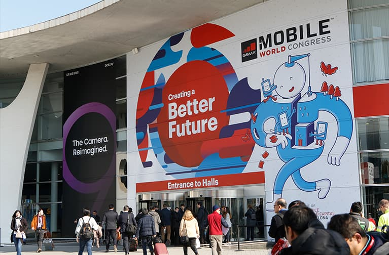 MWC18 Entrance