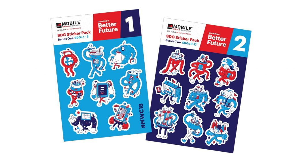 MWC18 Stickers